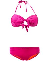 Banana Moon - Pink Bandeau Two Pieces Swimsuit Lacey Macaokita - Lyst