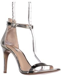 INC International Concepts - I35 Roriee Ankle Strap Dress Sandals, Pale Silver - Lyst