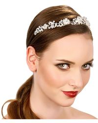 Kristin Perry - Crystal Vines Headpiece - Lyst