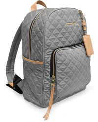 Adrienne Vittadini - Quilted Backpack With 13 Inch Padded Laptop Sleeve - Lyst