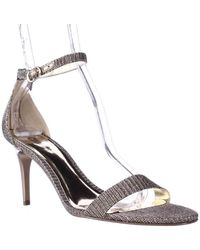 Carlos By Carlos Santana - Sunset Ankle Strap Dress Sandals, Gold - Lyst