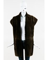 Maison Margiela - 1 Brown Nutria Fur Stole Scarf - Lyst
