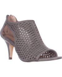 Lyst Style & Co. Haddiee Peep Peep Peep toe Ankle Shooties a29d0f