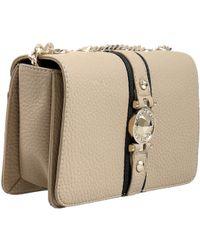 Versace - Ee1vsbbf8 Emdu 723+899 Taupe black Shoulder Bag - Lyst 48e27bbb86e2f