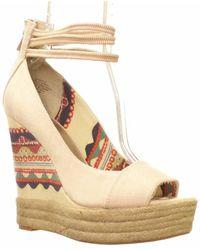 Rachel Roy - Shifali Platform Wedge Sandals - Lyst