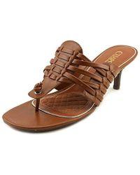 Chaps - Olivia Women Open Toe Synthetic Sandals - Lyst