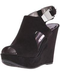 f3a6c90b0f87 Carlos By Carlos Santana - Womens Malor 2 Fabric Open Toe Casual Platform  Sandals - Lyst