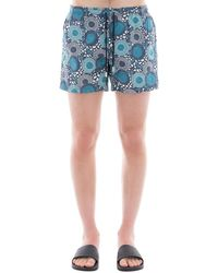 Paolo Pecora - Men's Blue Polyamide Trunks - Lyst