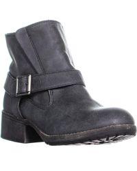 Madden Girl - Missionn Ankle Boots, Black Paris - Lyst