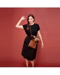 Thacker NYC - Valerie Midi Skirt - Lyst