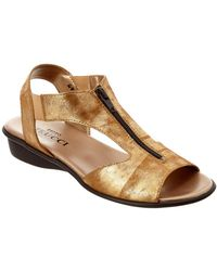 Sesto Meucci - Euclid Leather Sandal - Lyst