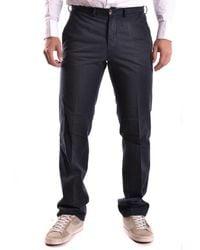 Ballantyne - Men's Mcbi032005o Blue Cotton Pants - Lyst