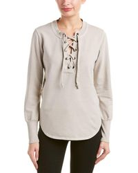 Young Fabulous & Broke - Noelle Lace-up Sweater - Lyst