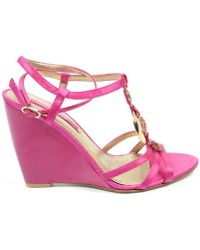 Nine West - Womens Ankle Strap Wedge Sandal - Lyst