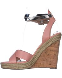 Charles David - Womens Brit Open Toe Casual Platform Sandals - Lyst