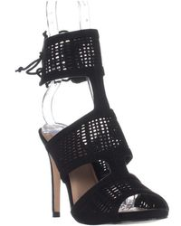 Call It Spring - Forcey Ankle-cuff Dress Sandals, Black - Lyst