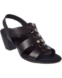 Munro - Maggie Leather Sandal - Lyst