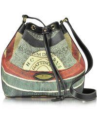 Gattinoni - Women's Multicolor Pvc Shoulder Bag - Lyst