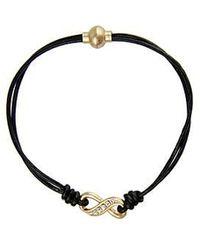 Saachi - Crystal Infinity Bracelet - Lyst