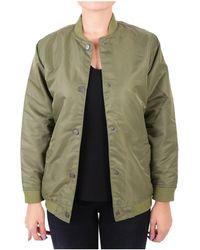 WÅVEN - Women's Green Polyamide Outerwear Jacket - Lyst