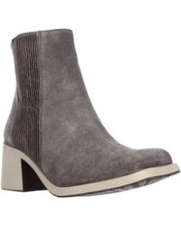 Naya - Gang Chelsea Mid-calf Boots, Taupe - Lyst