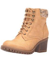 30e8b676462 White Mountain Footwear - Womens Tulane Leather Closed Toe Ankle Fashion  Boots - Lyst