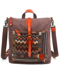 The Same Direction - Boho Convertible Backpack/crossbody - Lyst