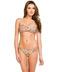 Shoshanna - Barbados Floral Print Brief Bottom - Lyst