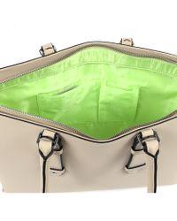 Armani Jeans - Womens Handbag Beige - Lyst