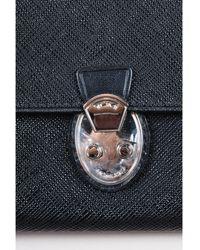 Tumi - 1 Black Saffiano Leather Flap Wallet - Lyst