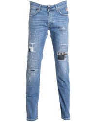 Roy Rogers - Men's Yellow Cotton Jeans - Lyst