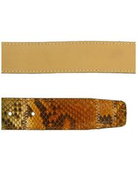 Renato Balestra - Antaresia Python Leather Womens Belt - Lyst
