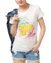 Junk Food - Mtv Graphic T-shirt - Lyst