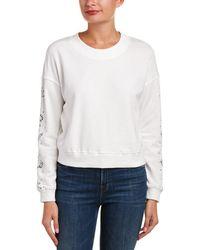 Honey Punch - Crop Sweatshirt - Lyst