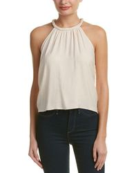 Blush Noir - Braded Halter Tank - Lyst