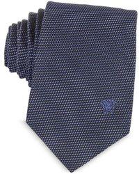 Versace - Men's Purple Silk Tie - Lyst