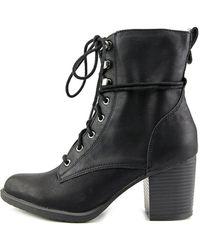 da5528463328 American Rag - Womens Laina Closed Toe Ankle Combat Boots - Lyst