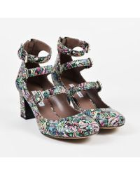"""Tabitha Simmons - Multicolor Leather Dragonfly Print """"ginger"""" Pumps - Lyst"""