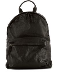 Officine Creative - Men's Brown Leather Backpack - Lyst