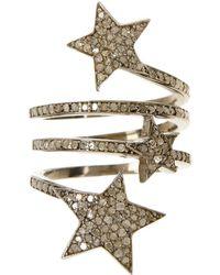 Adornia | Champagne Diamond Starra Ring | Lyst