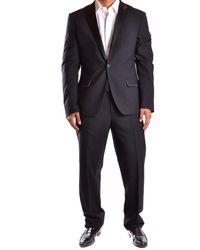 Dirk Bikkembergs - Men's Mcbi097019o Black Wool Suit - Lyst