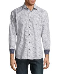 Jared Lang - Graphic Button-down Shirt - Lyst
