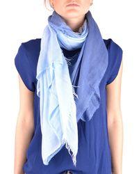 Altea | Women's Light Blue Modal Scarf | Lyst