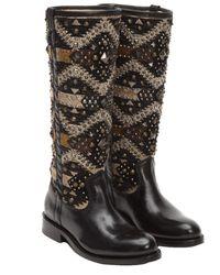 Frye - Women's Jayden Navaho Leather Tall Boot - Lyst