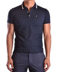 Ballantyne - Men's Mcbi032023o Blue Cotton Polo Shirt - Lyst