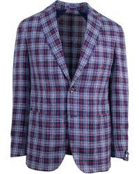 Pal Zileri - Sartoriale Blue Two Button Sport Coat - Lyst