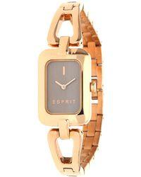 Esprit - Watch Narelle Pink Gold Es108512003 - Lyst
