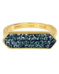 Saachi - Montana Gold Plated Rings - Lyst