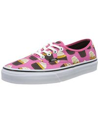 63308637b1 Lyst - Vans Womens Authentic Lo Pro Canvas Low Top Lace Up Fashion ...