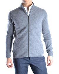 Guess - Men's Mcbi143004o Grey Wool Cardigan - Lyst
